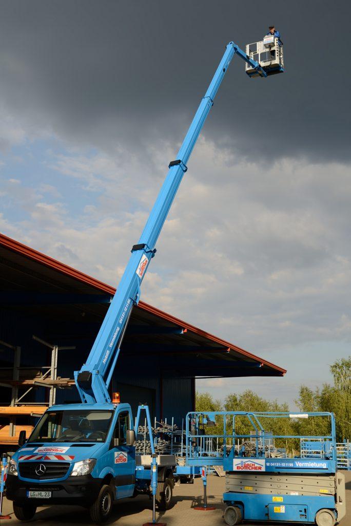 Arbeitsbühnen In der Nähe von Bokel bei Rendsburg ausleihen